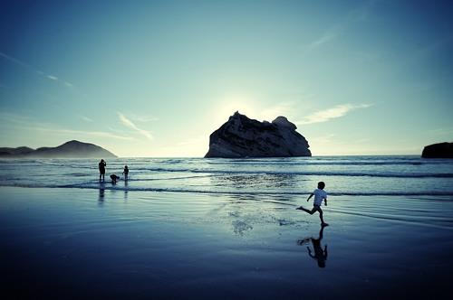 Wharariki Beach - Neuseeland